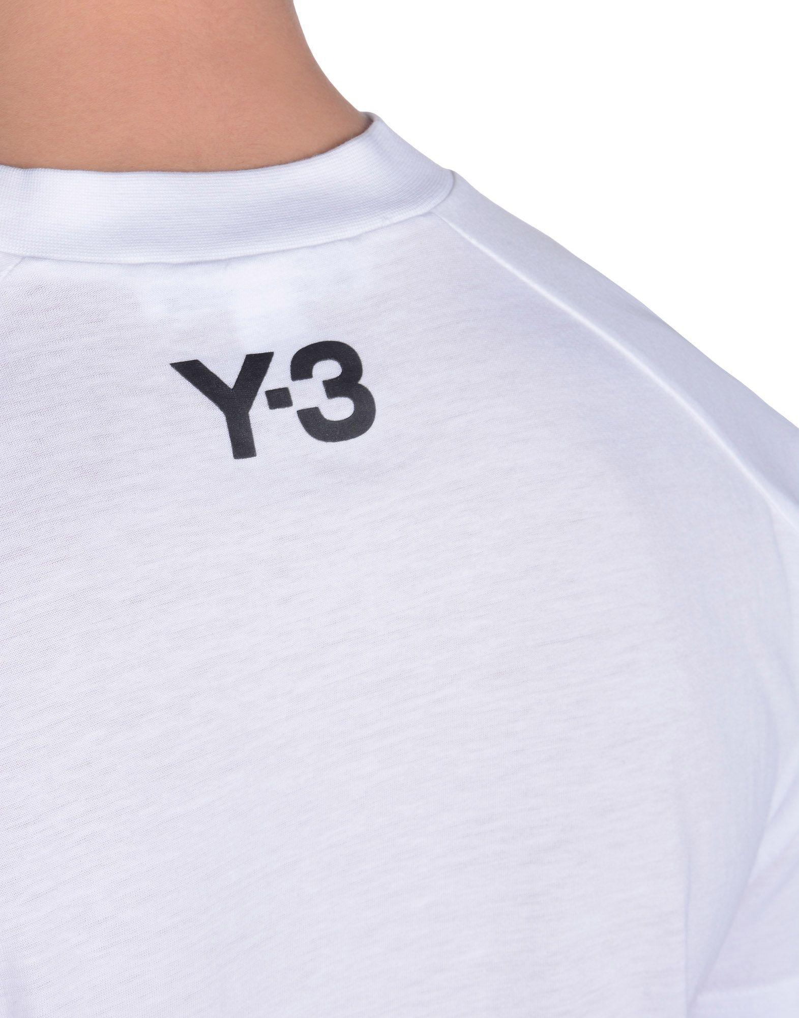 Y-3 TECH LOGO TEE TEES & POLOS man Y-3 adidas