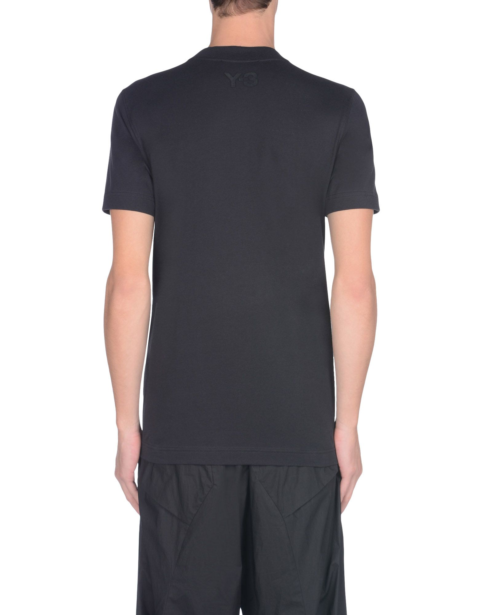 34e393171eec ... Y-3 Y-3 TV FUTURE TEE Short sleeve t-shirt Man e ...