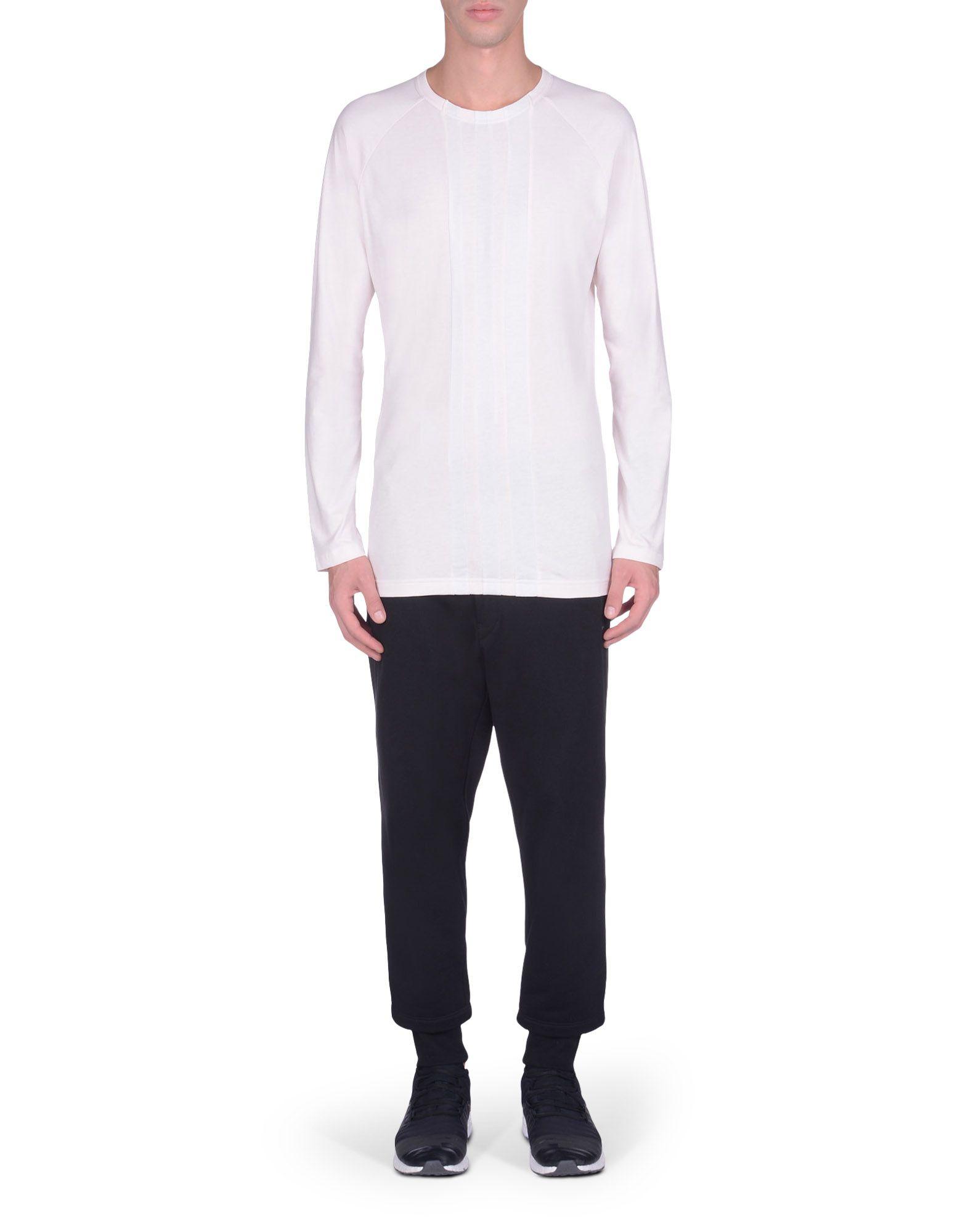 Y-3 Stripe long sleeve T-shirt JXnG0g