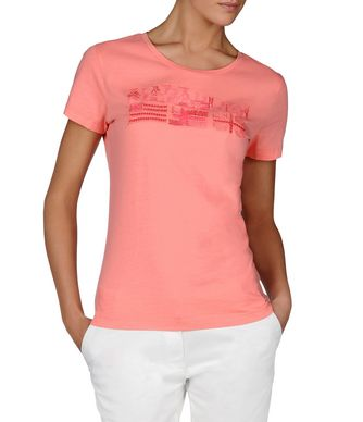 NAPAPIJRI SHALVEY WOMAN SHORT SLEEVE T-SHIRT,PINK