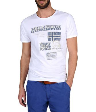 NAPAPIJRI SEPIK MAN SHORT SLEEVE T-SHIRT