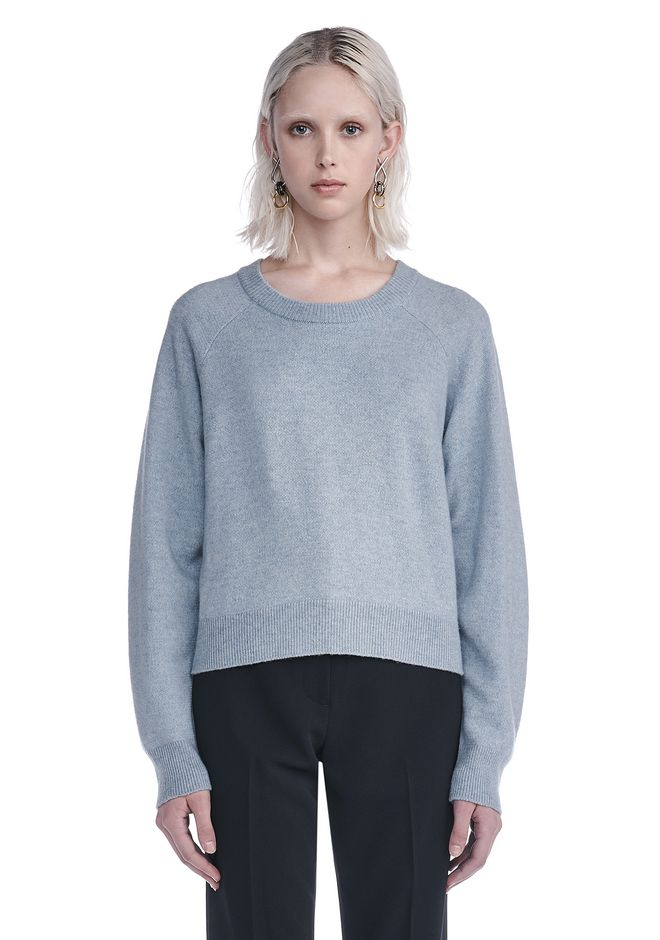T by ALEXANDER WANG knitwear-t-by-alexander-wang-woman CASHWOOL CROP SWEATER