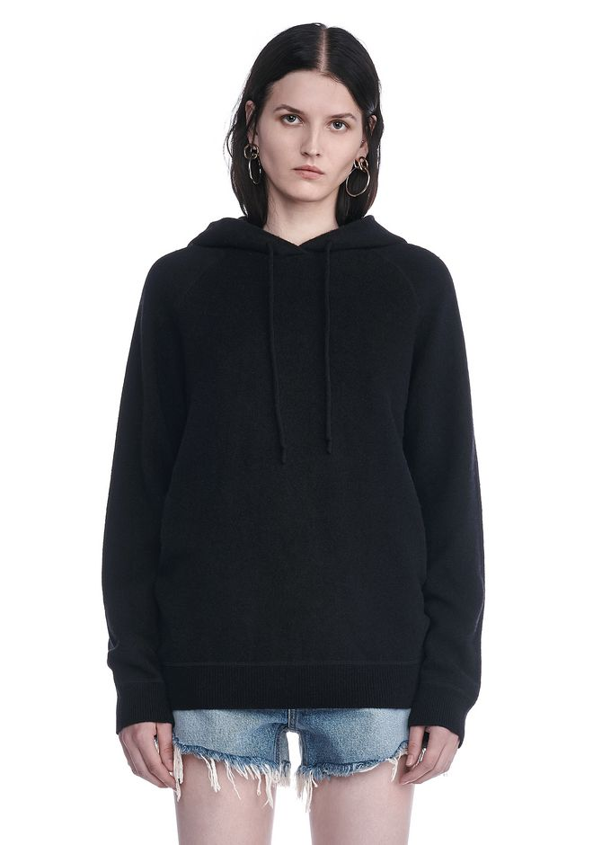 T by ALEXANDER WANG knitwear-t-by-alexander-wang-woman CASHWOOL HOODIE