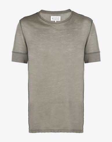MAISON MARGIELA Short sleeve t-shirt U Jersey tee-shirt f