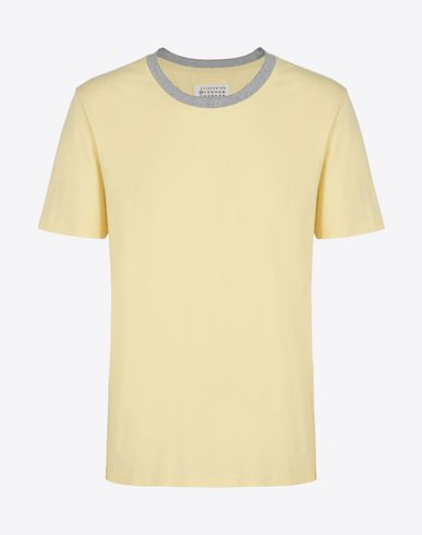 MAISON MARGIELA 10 Short sleeve t-shirt U Tripack of cotton jersey tee-shirts f