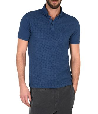 NAPAPIJRI EBEC MAN SHORT SLEEVE POLO,DARK BLUE