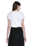 T by ALEXANDER WANG CAP SLEEVE FITTED BODYSUIT TOP Adult 8_n_a