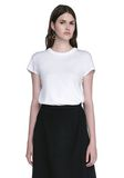 T by ALEXANDER WANG CAP SLEEVE FITTED BODYSUIT TOP Adult 8_n_e