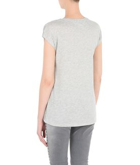 KARL LAGERFELD KARL HEAD BURNOUT TEE
