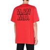 STELLA McCARTNEY MEN Red Members Print T-shirt Men T-shirts U e