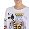 STELLA McCARTNEY MEN Playing Cards Print Long T-shirt Men T-shirts U a