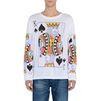 STELLA McCARTNEY MEN Playing Cards Print Long T-shirt Men T-shirts U d