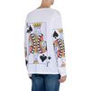 STELLA McCARTNEY MEN Playing Cards Print Long T-shirt Men T-shirts U e