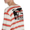 STELLA McCARTNEY MEN Striped Long Sleeved T-shirt Men T-shirts U a