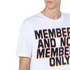 STELLA McCARTNEY MEN White Members Print T-shirt Men T-shirts U a