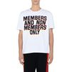 STELLA McCARTNEY MEN White Members Print T-shirt Men T-shirts U d