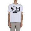 STELLA McCARTNEY MEN White Tomorrow Print T-shirt Men T-shirts U d