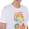 STELLA McCARTNEY MEN White Nice One Print T-shirt Men T-shirts U a