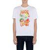STELLA McCARTNEY MEN White Nice One Print T-shirt Men T-shirts U d