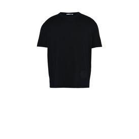 STELLA McCARTNEY MEN Men T-shirts U Black Logo T-shirt f