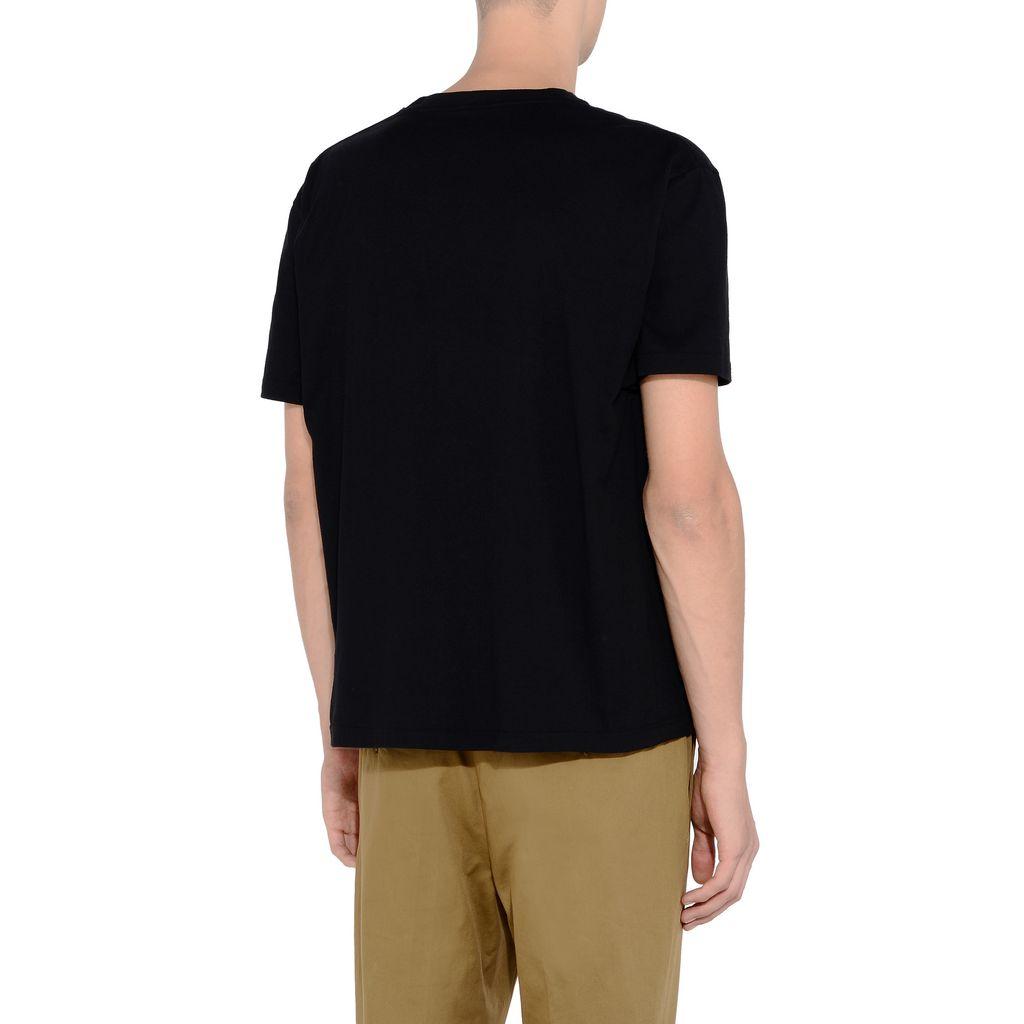 Black Logo T-shirt  - STELLA McCARTNEY MEN