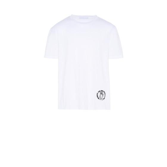 ホワイト ロゴ Tシャツ
