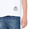 STELLA McCARTNEY MEN White Logo T-shirt Men T-shirts U a