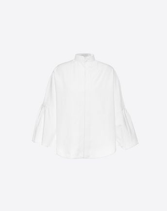 VALENTINO Camisa de popelina de algodón 37958032WU