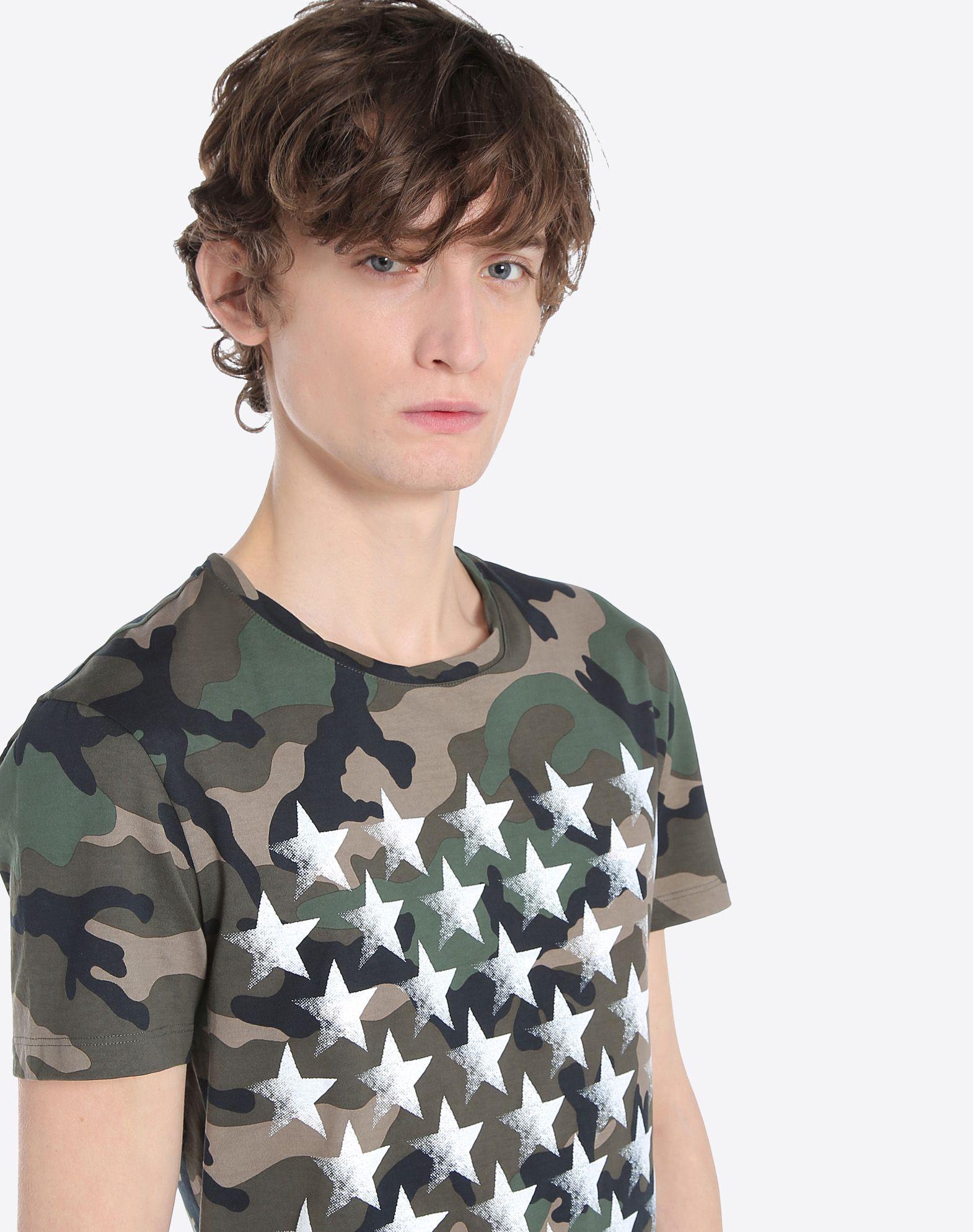 VALENTINO UOMO MV3MG08A48M F00 T-shirt U a