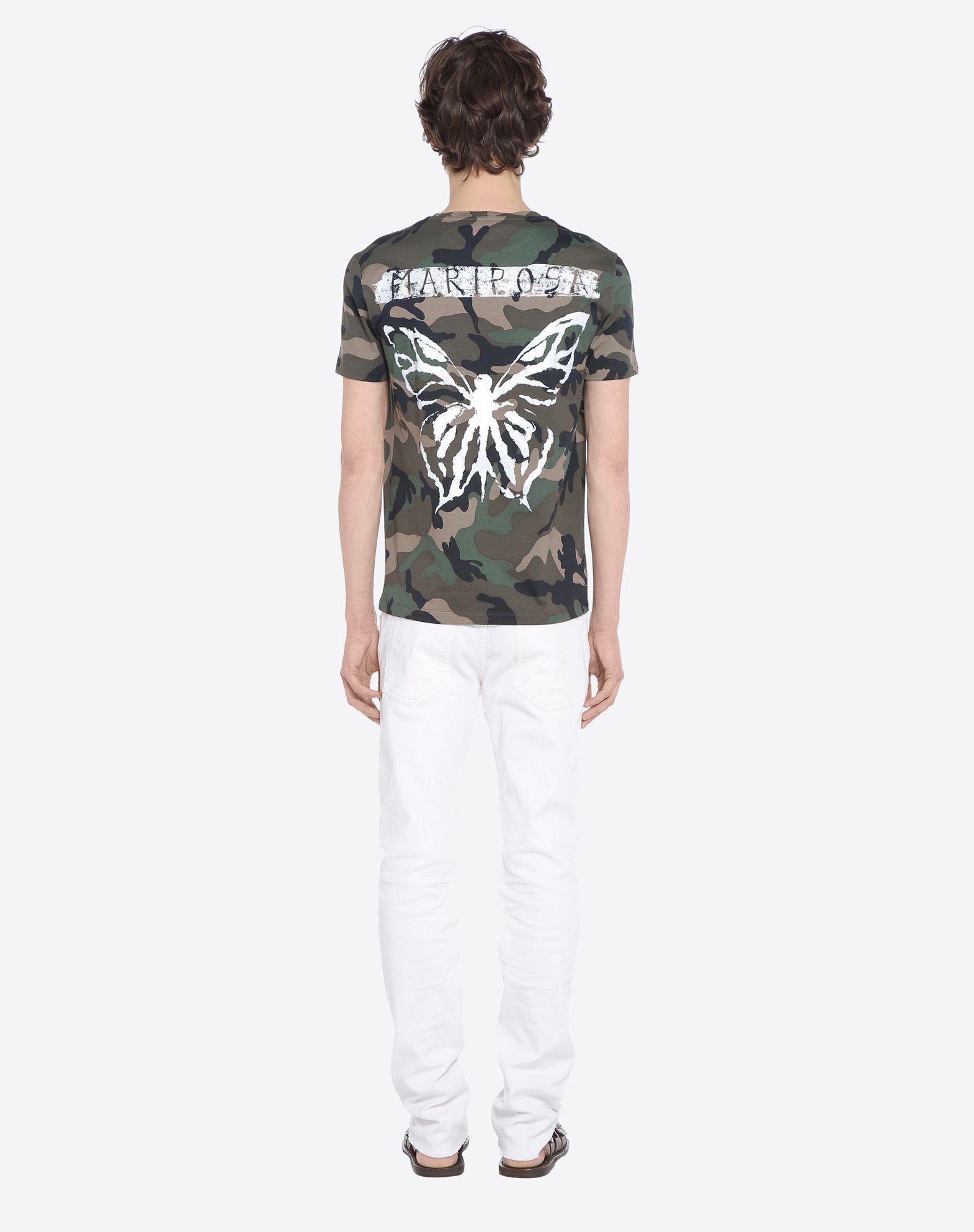 VALENTINO UOMO MV3MG08A48M F00 T-shirt U d