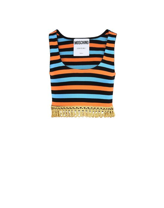 Sleeveless t-shirt Woman MOSCHINO