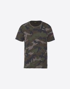 VALENTINO UOMO Camiseta U CAMISETA ID CAMOUFLAGE f