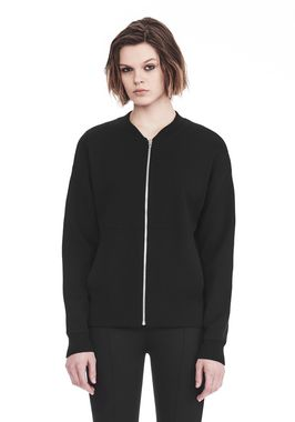 BOMBER JACKET WITH SEAMLESS POCKET