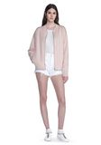 ALEXANDER WANG BOMBER JACKET WITH SEAMLESS POCKET TOP Adult 8_n_f