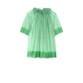 STELLA McCARTNEY Short Sleeved D Lunette Top f