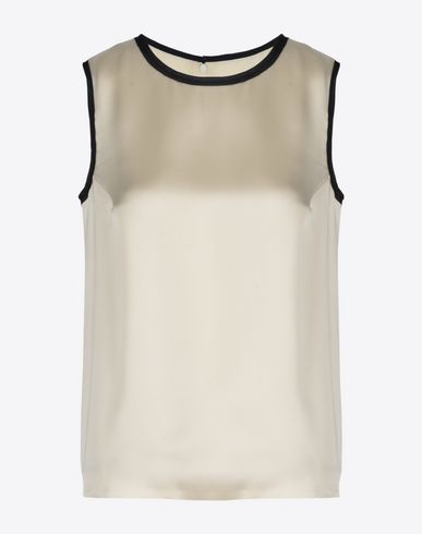 MAISON MARGIELA 4 Top D Satin top f