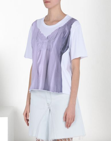 MM6 by MAISON MARGIELA T シャツ D トロンプルイユ Tシャツ f