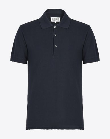 MAISON MARGIELA 14 Polo shirt U Slim-fit cotton polo f