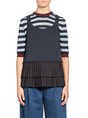 Marni T-shirt in cotton jersey Woman