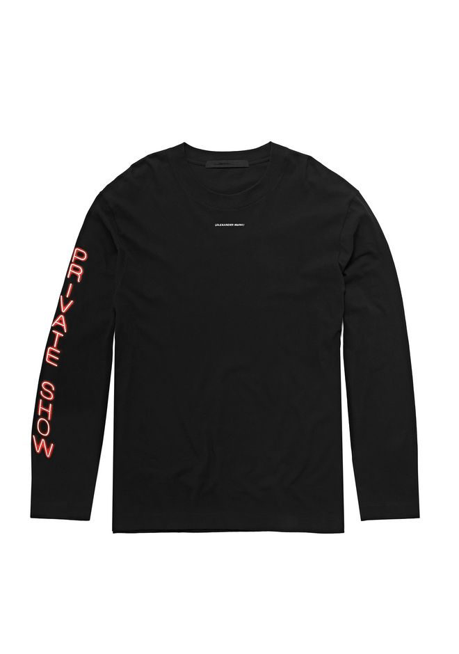 ALEXANDER WANG exclusives EXCLUSIVE PRIVATE SHOW LONG SLEEVE SHIRT
