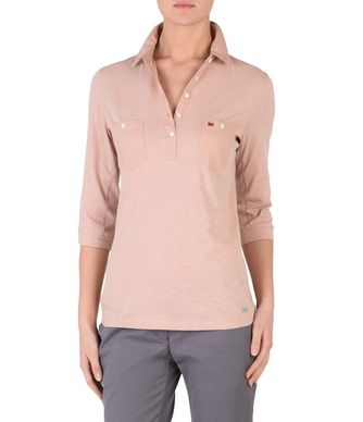 NAPAPIJRI EMY WOMAN LONG SLEEVES POLO