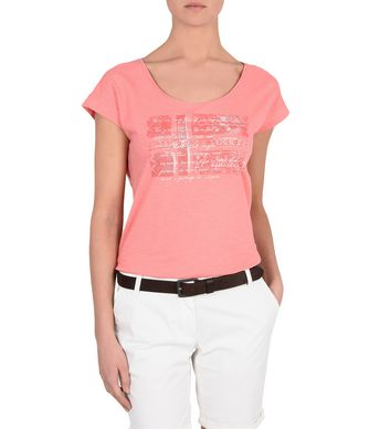 NAPAPIJRI SANDINO WOMAN SHORT SLEEVE T-SHIRT,PINK