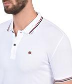 NAPAPIJRI ELDIS STRIPE Short Sleeve Polo U e
