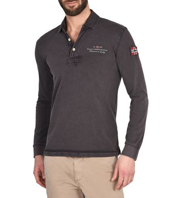 NAPAPIJRI ELBAS LONG SLEEVES MAN LONG SLEEVES POLO
