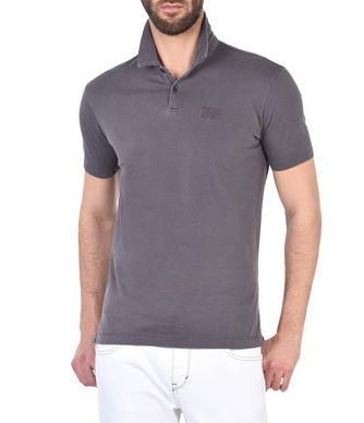 NAPAPIJRI ENAI MAN SHORT SLEEVE POLO,DOVE GREY