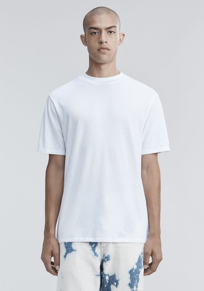 T by ALEXANDER WANG t-by-alexander-wang-classics SHORT SLEEVE HIGH NECK TEE
