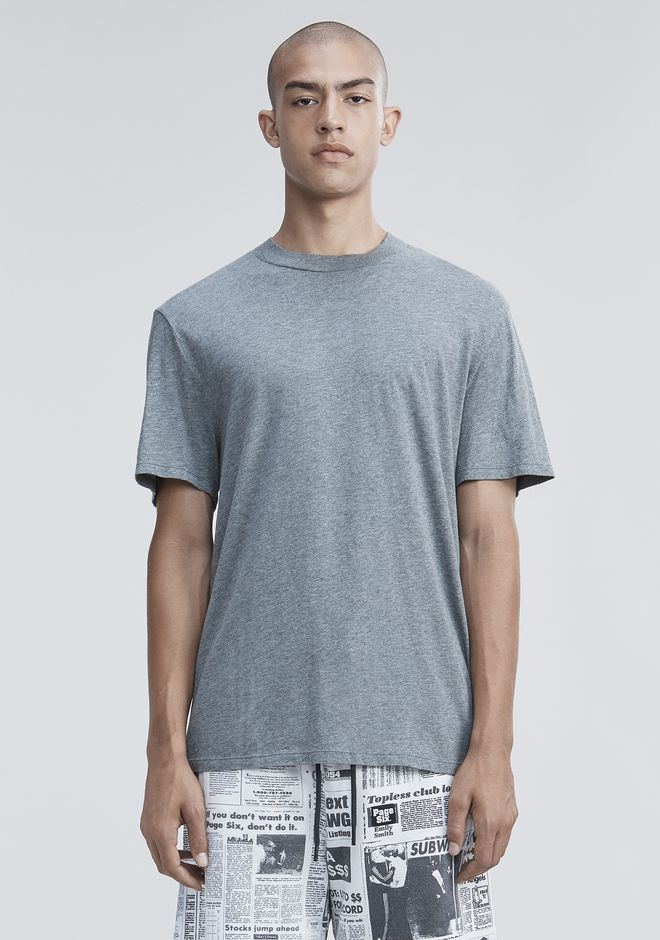 T by ALEXANDER WANG TOPS Men SHORT SLEEVE HIGH NECK TEE