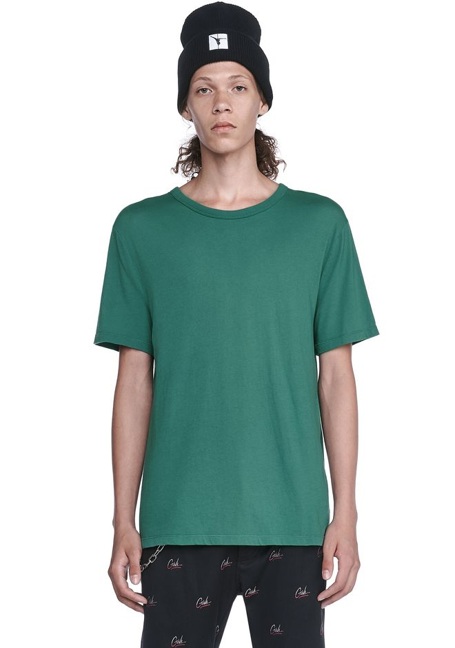 T by ALEXANDER WANG TOPS Men CLASSIC SHORT SLEEVE TEE