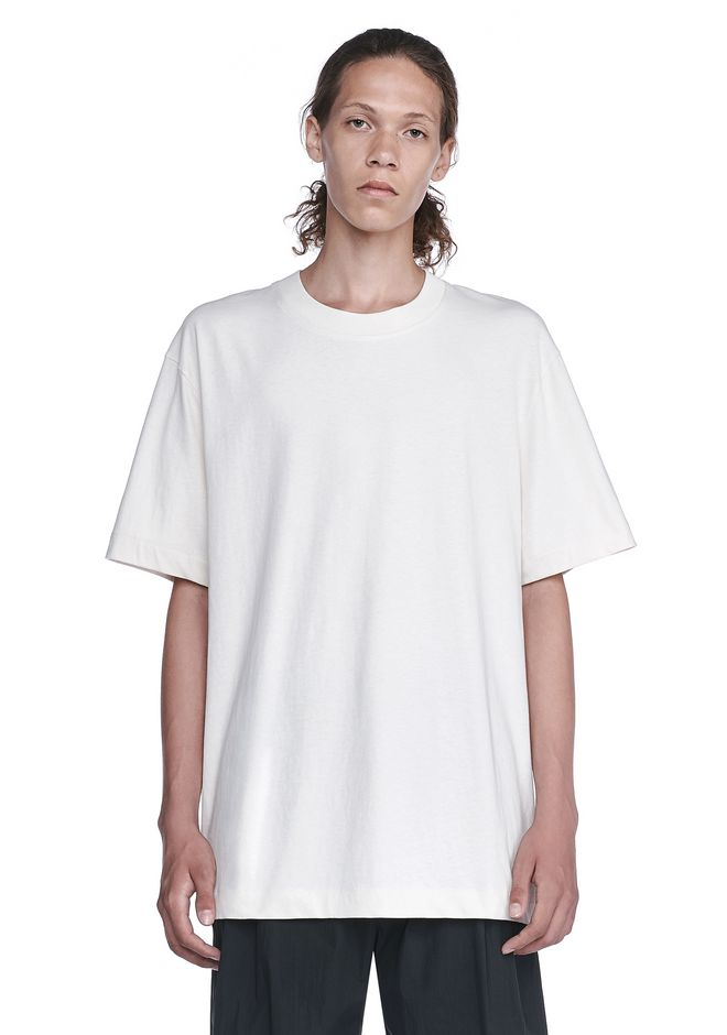 T by ALEXANDER WANG TOPS Men HIGH TWIST MOCK NECK TEE
