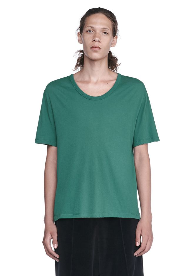 T by ALEXANDER WANG TOPS Men CLASSIC LOW NECK TEE
